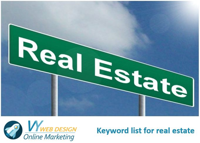 Keyword list for real estate